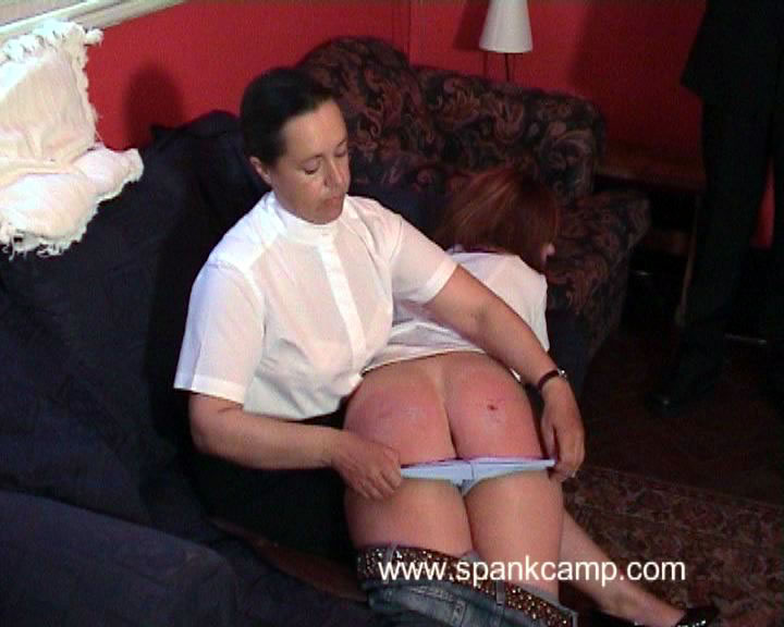 SpankCamp – THE INSPECTION PART 1
