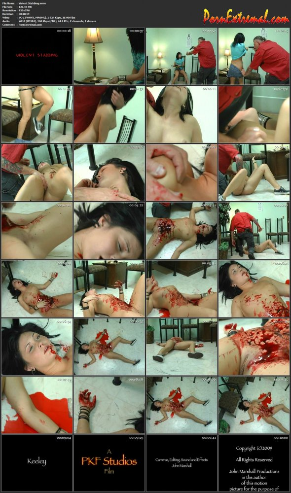 Peachy Keen Films – Violent Stabbing 1
