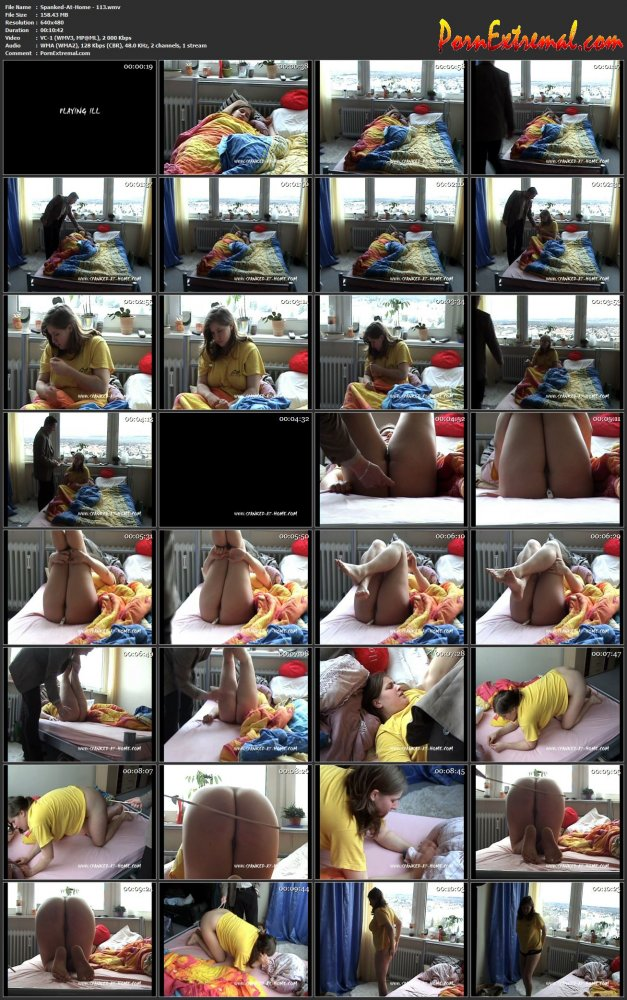 Spanked-At-Home - 113 screen