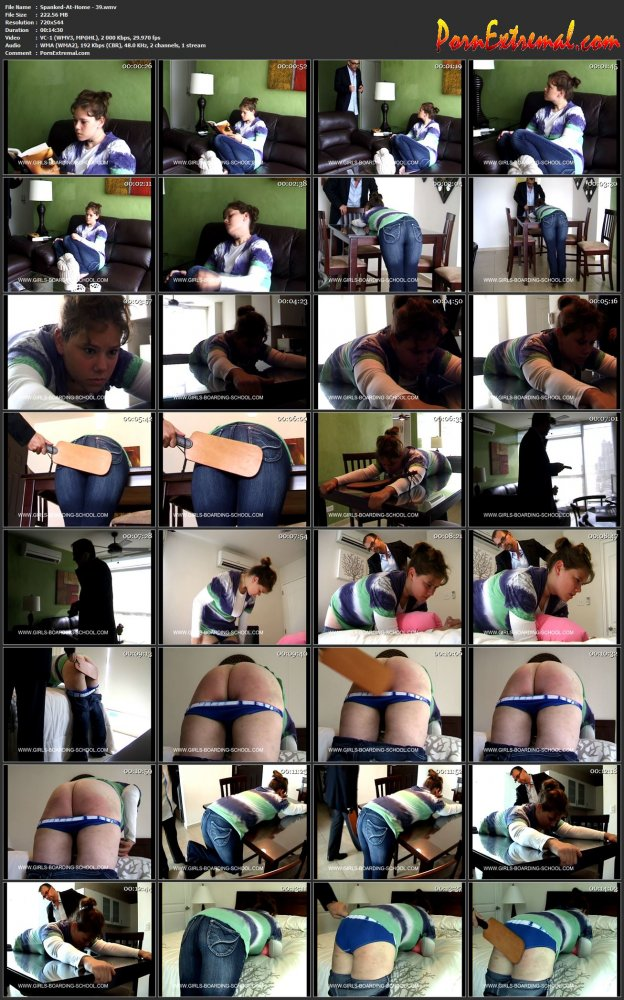 Spanked-At-Home - 39 screen