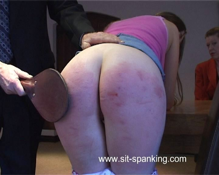 Sit-Spanking – They're both to blame Part 2