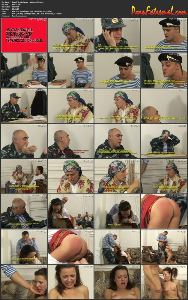 Rough Sex in Russia - Volume 022 screen